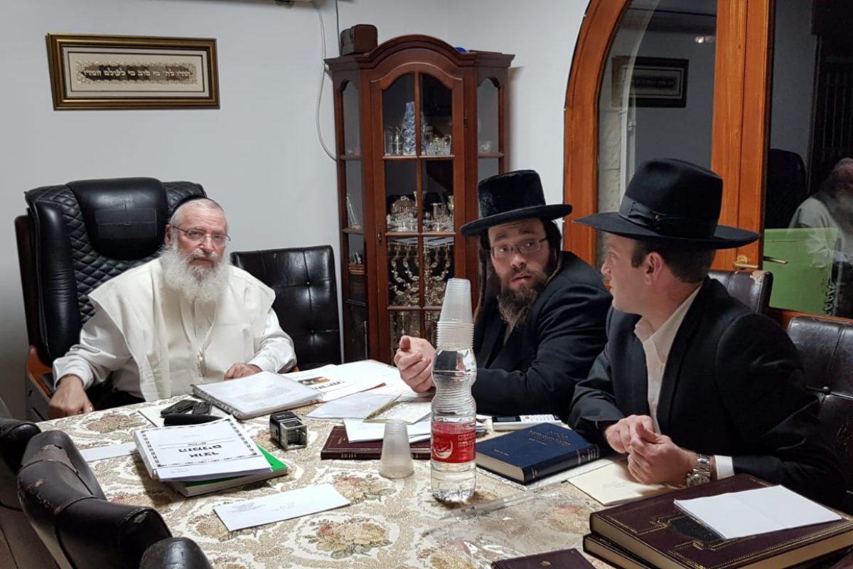 הרב וייס בשיחה על אחריות
